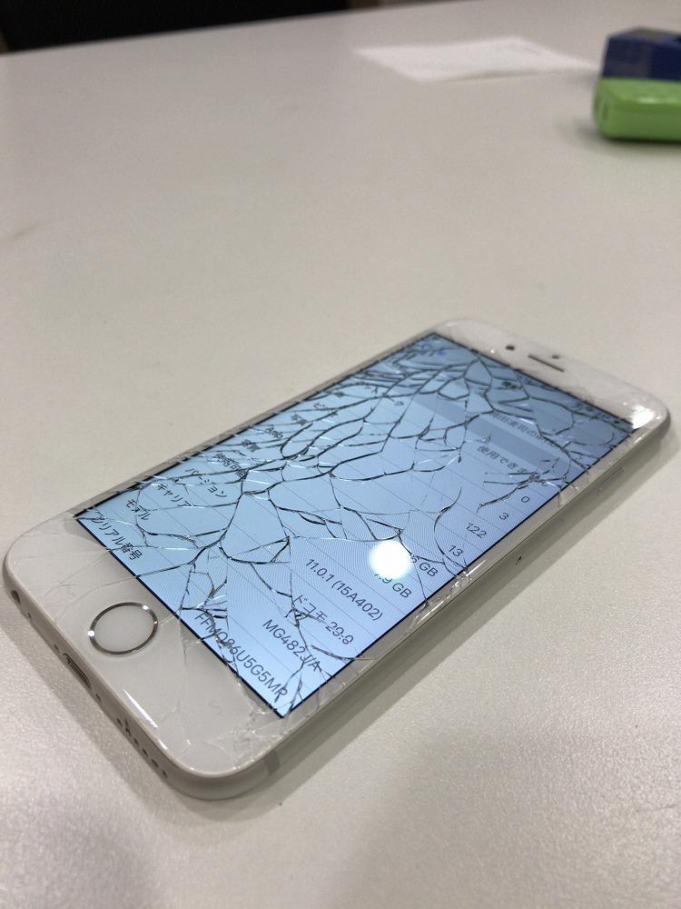 df0f819327 バリフォンの液晶交換も地域最安値!iPhone6の液晶交換ならスマップル ...