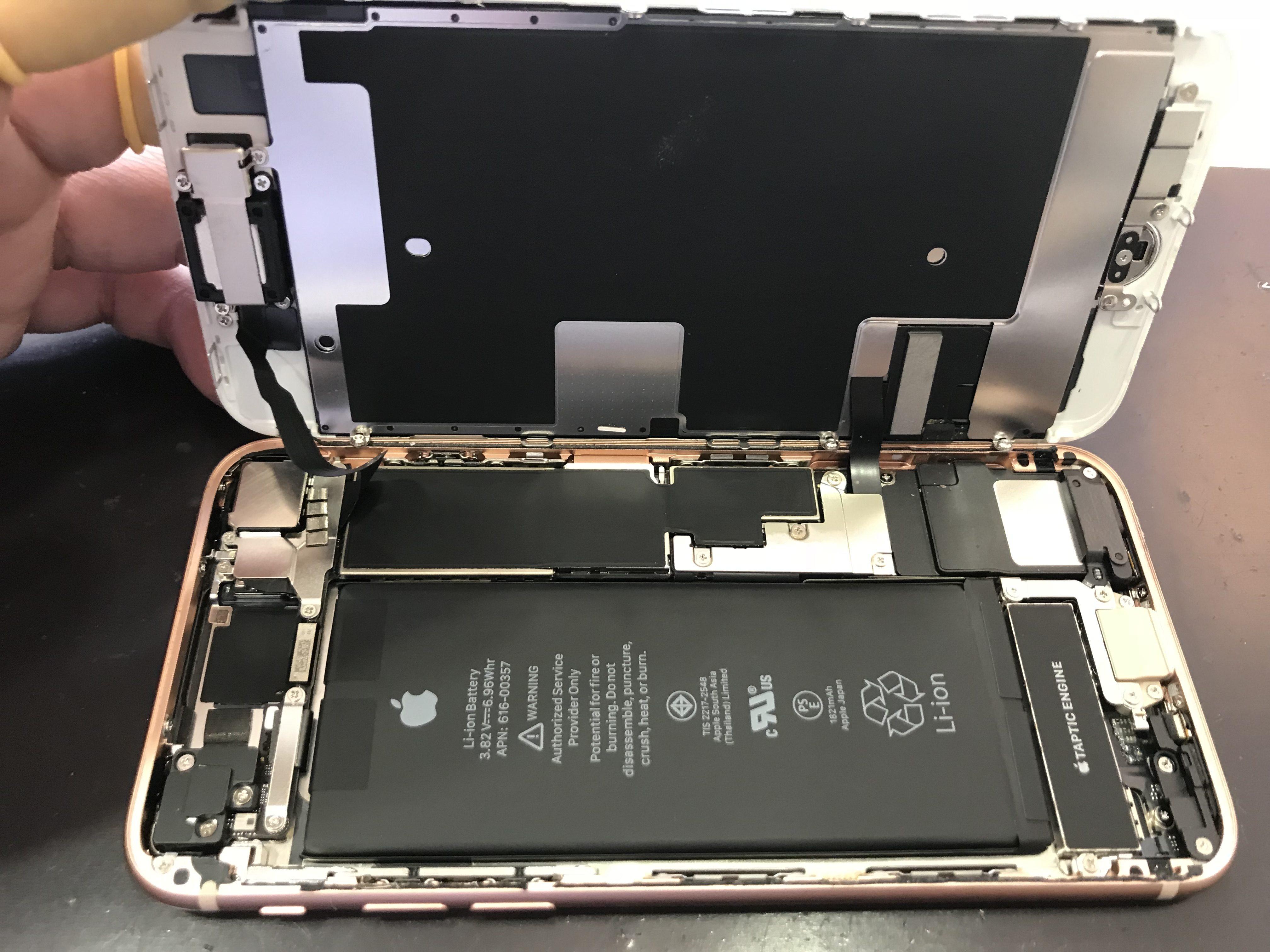 iPhone8 液晶 修理中