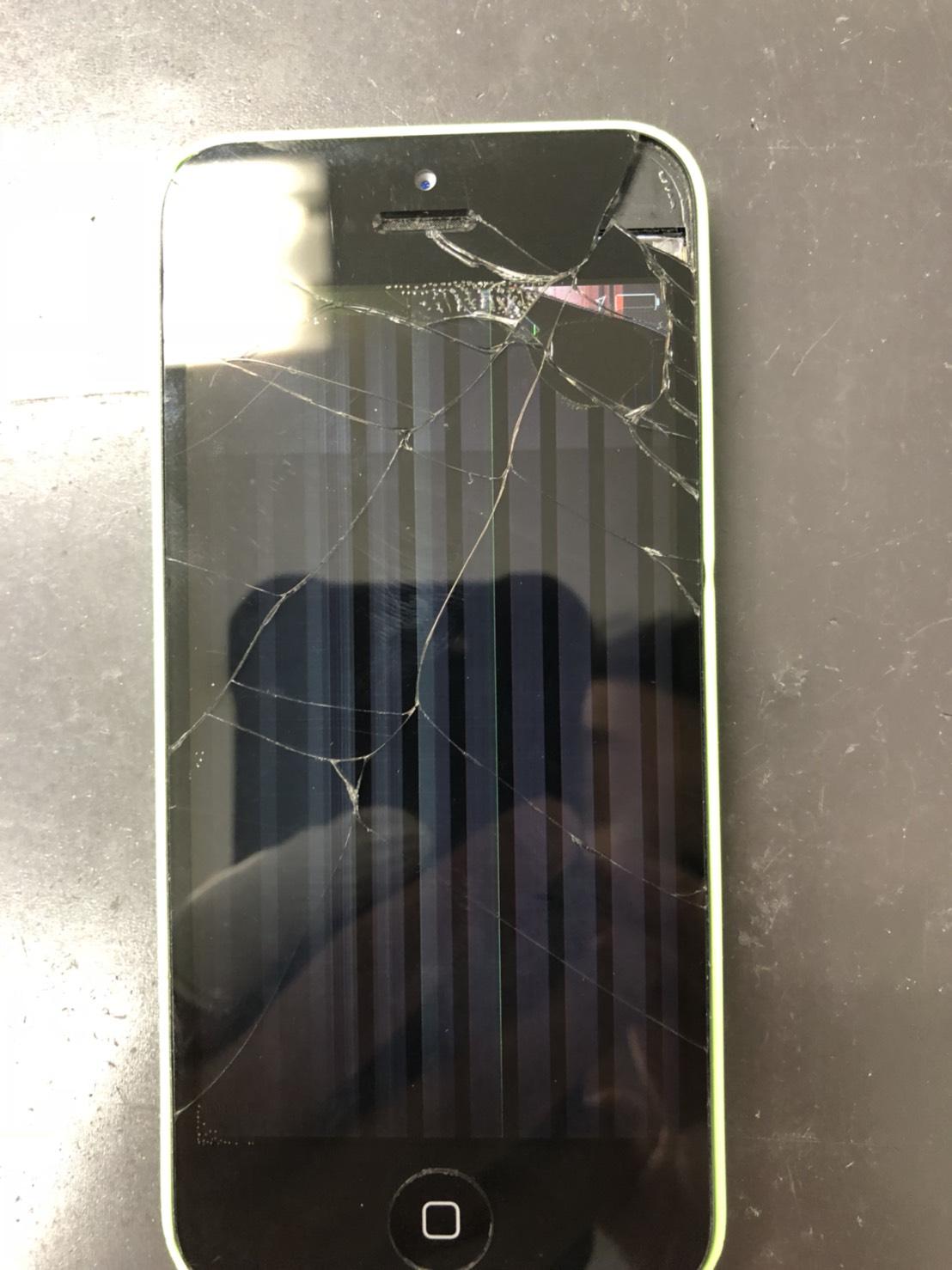 iPhone5c液晶画面修理