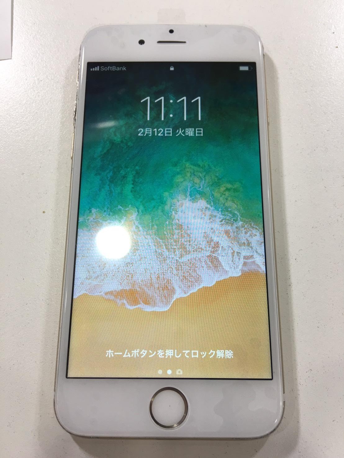 iPhone6 修理後画像