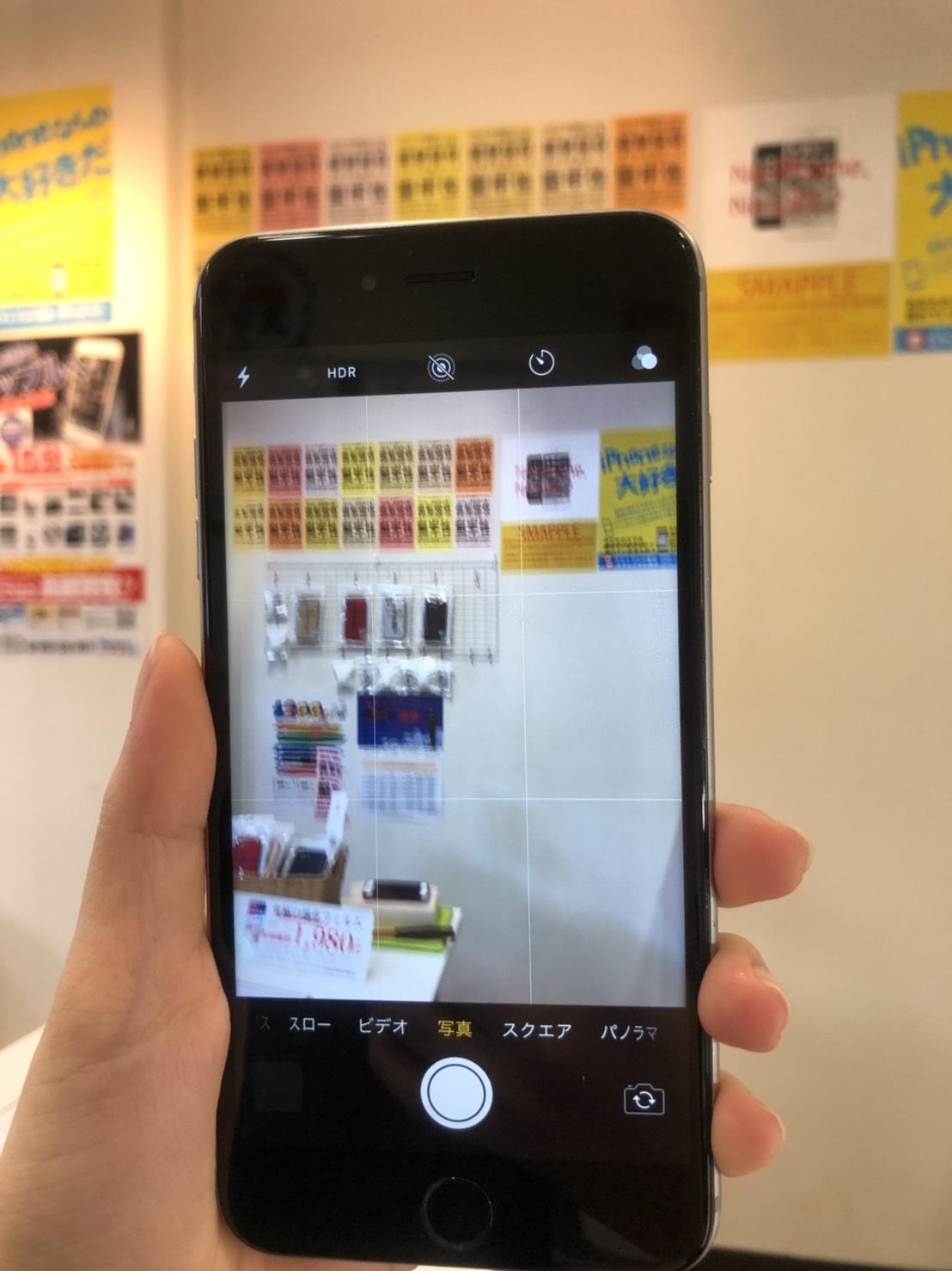 iPhone6Slus ピントが合わない
