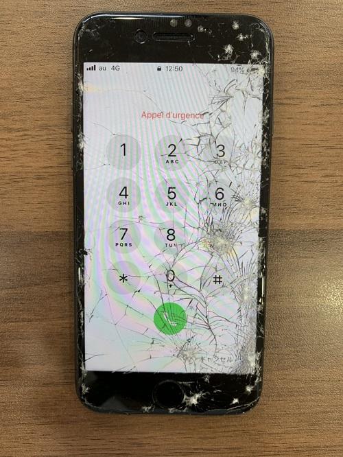 iPhone8 画面修理前