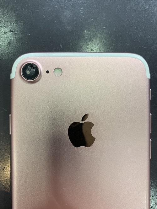 iPhone7 カメラレンズ交換前