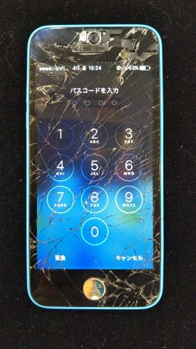 iPhone5c 画面交換前