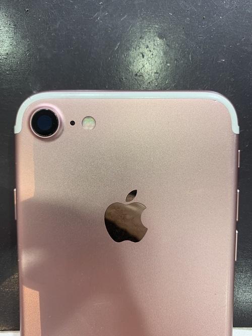 iPhone7 カメラレンズ交換後