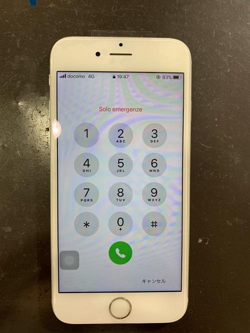 iPhone8Plus 画面交換後