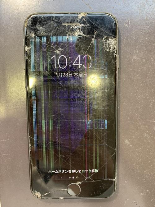 iPhone8 ガラス交換 液晶交換 画面交換