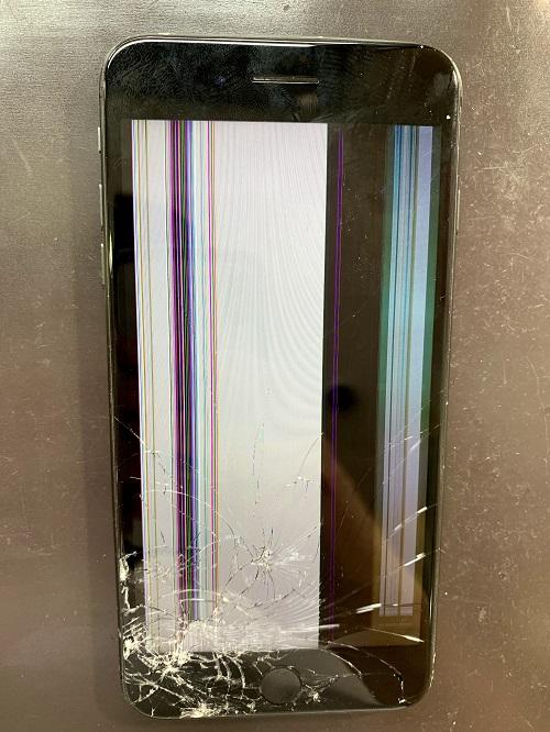 iPhone8Plus 画面交換 ガラス交換