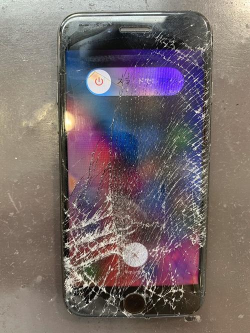 iPhone8 ガラス修理 ガラス交換
