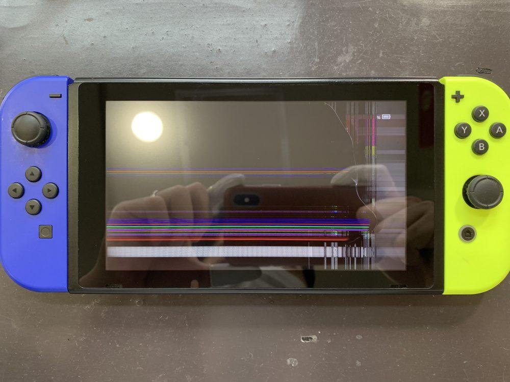Switch 液晶交換