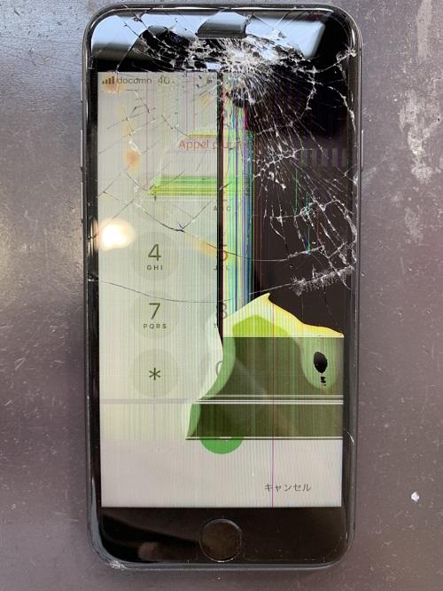 iPhone8 画面交換