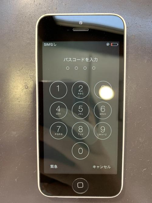 iPhone5c 液晶交換