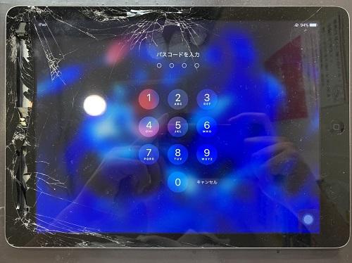iPadAir ガラス割れ ガラス交換