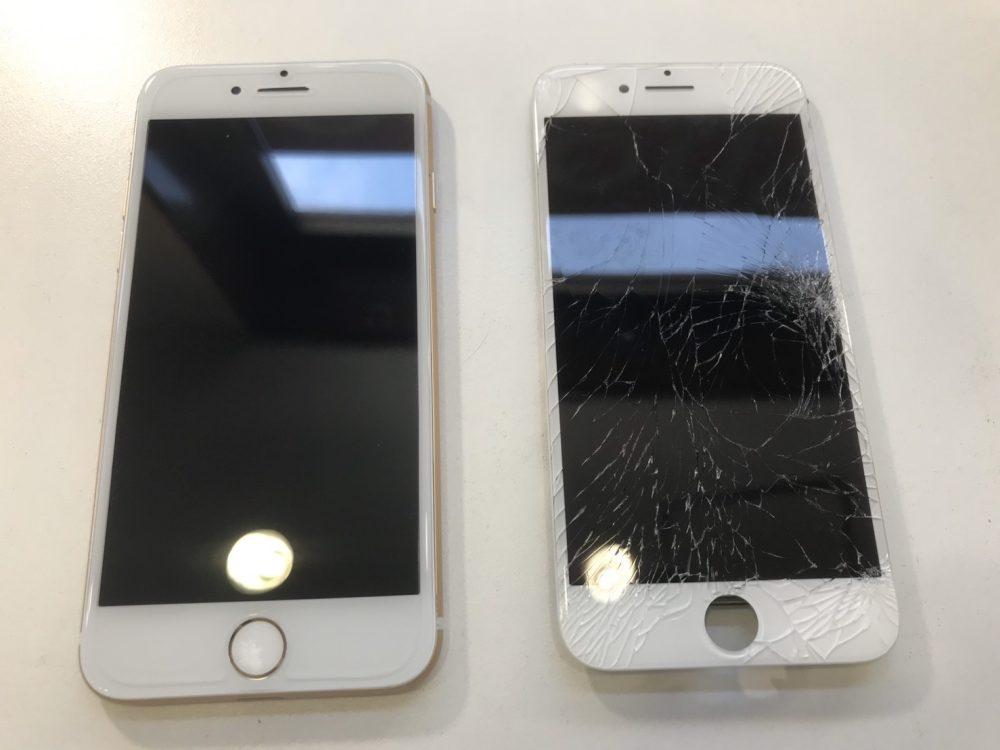 iPhone 画面修理 北九州