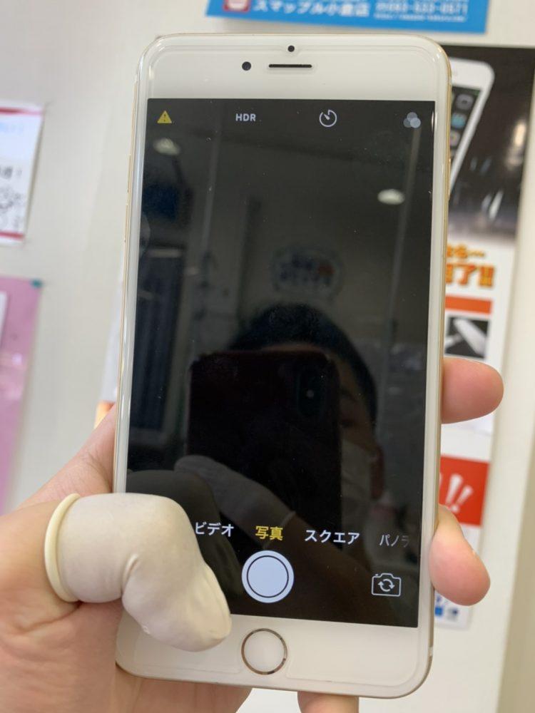 iPhone6Plus 外カメラ 映らない