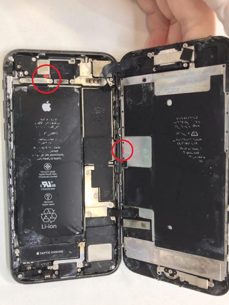 iPhone水没 修理 水没復旧