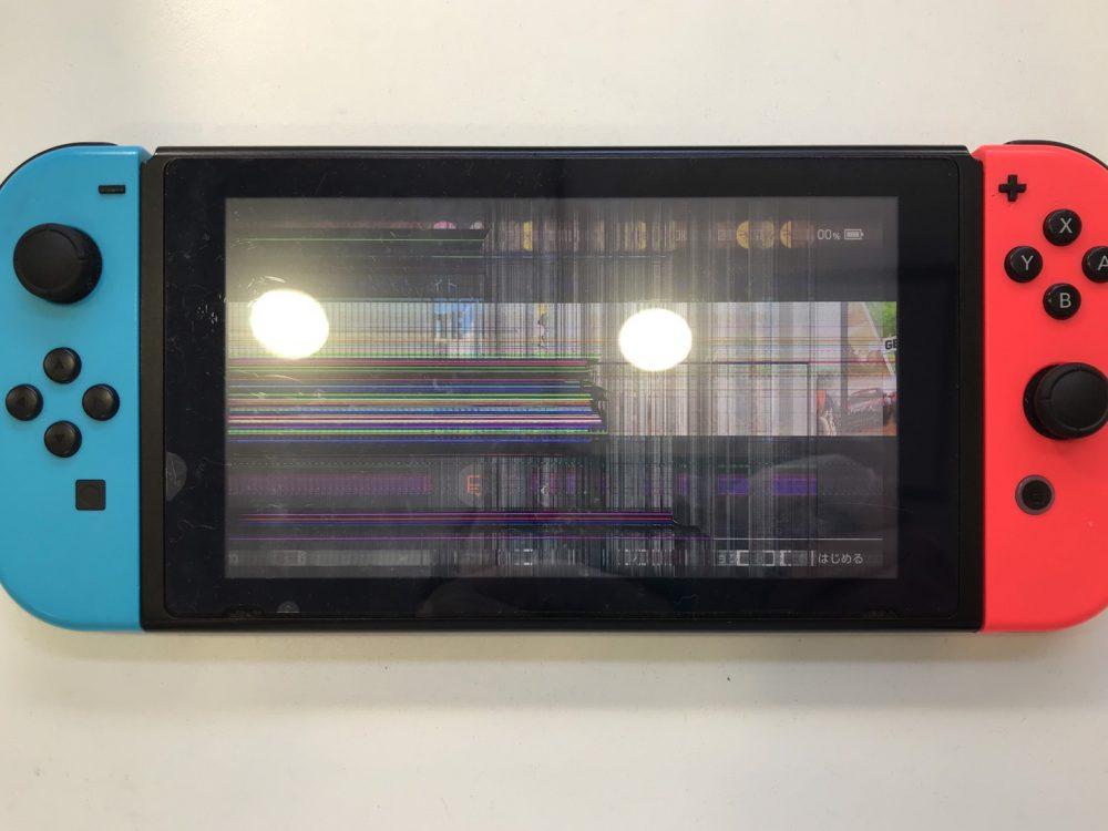 Switch 画面修理 液晶 北九州
