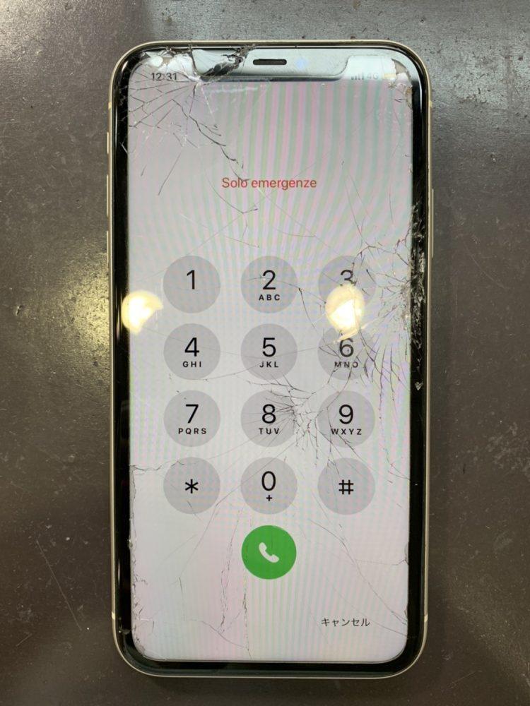 iPhone11 画面交換修理 小倉