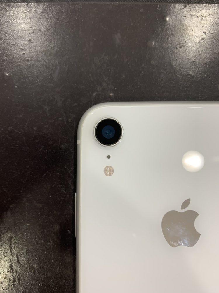 iPhoneXR カメラレンズ交換