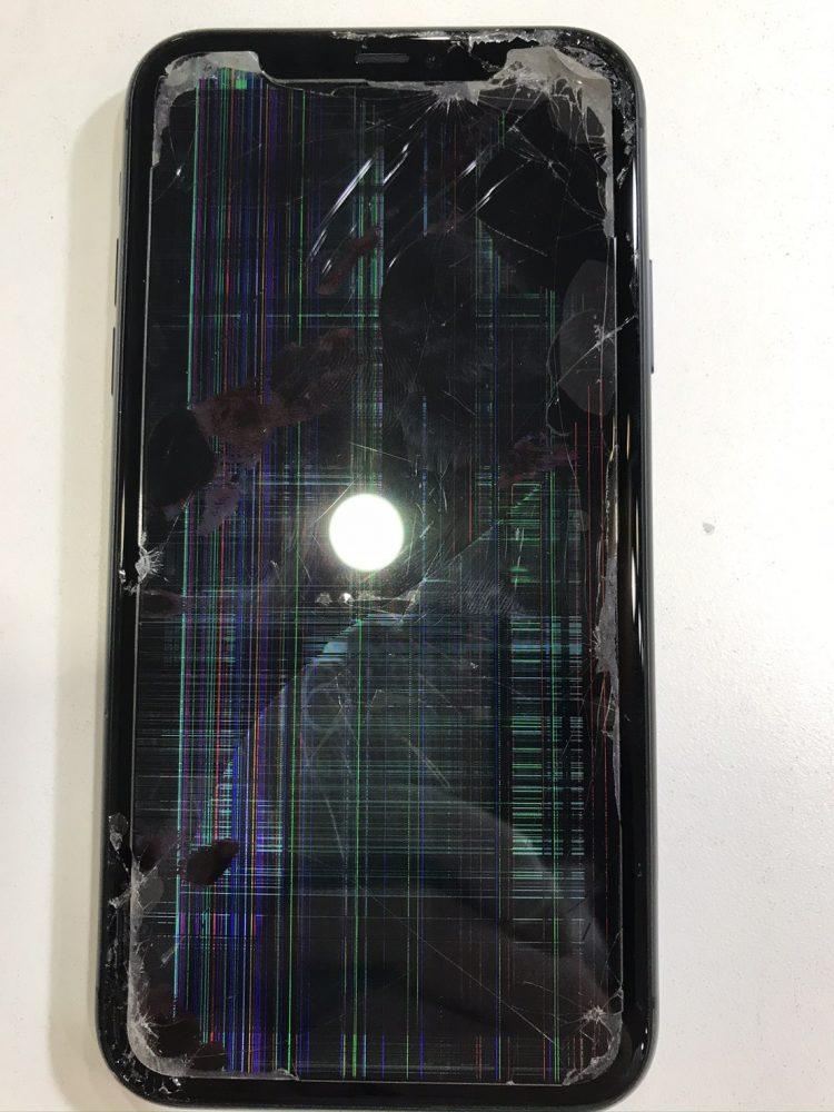 画面割れ iPhone11 画面修理