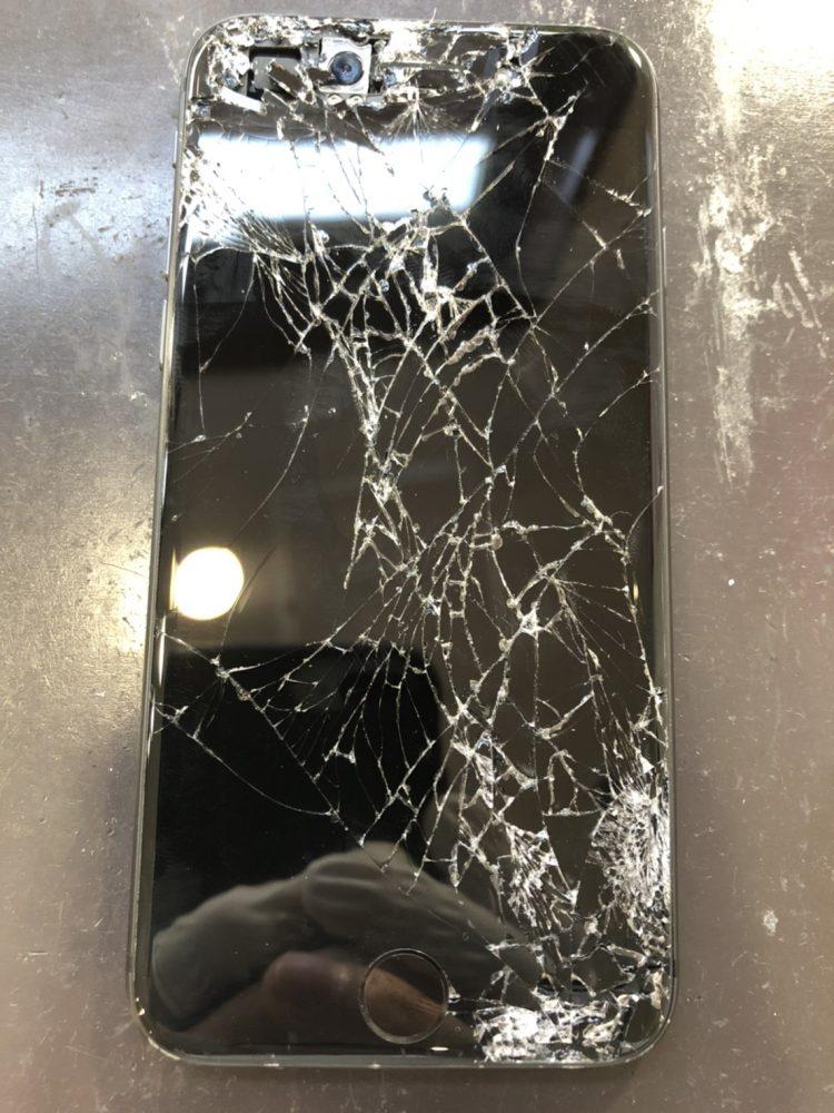 iPhone8 画面交換前
