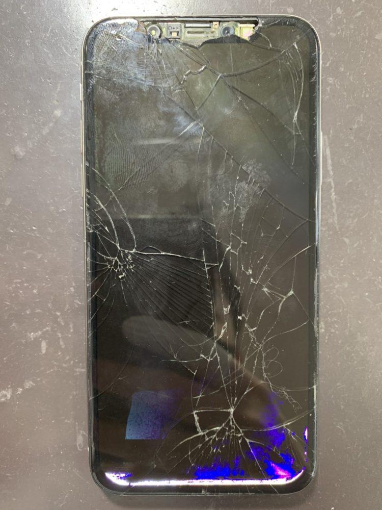 iPhoneX 画面交換 小倉