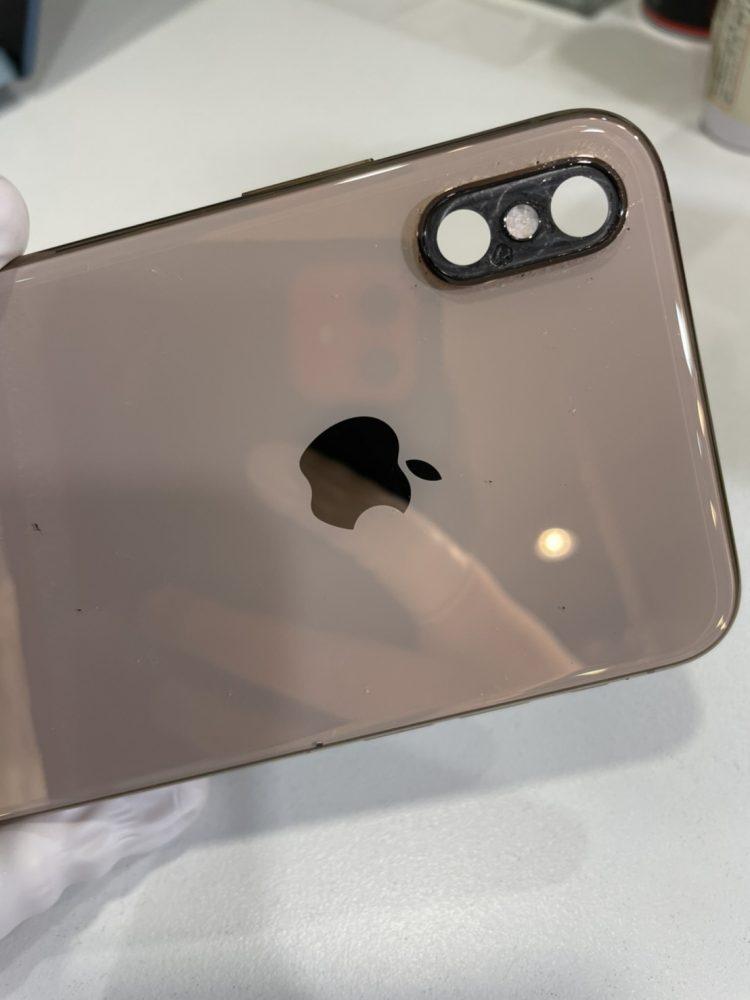 iPhone修理 カメラレンズ割れ