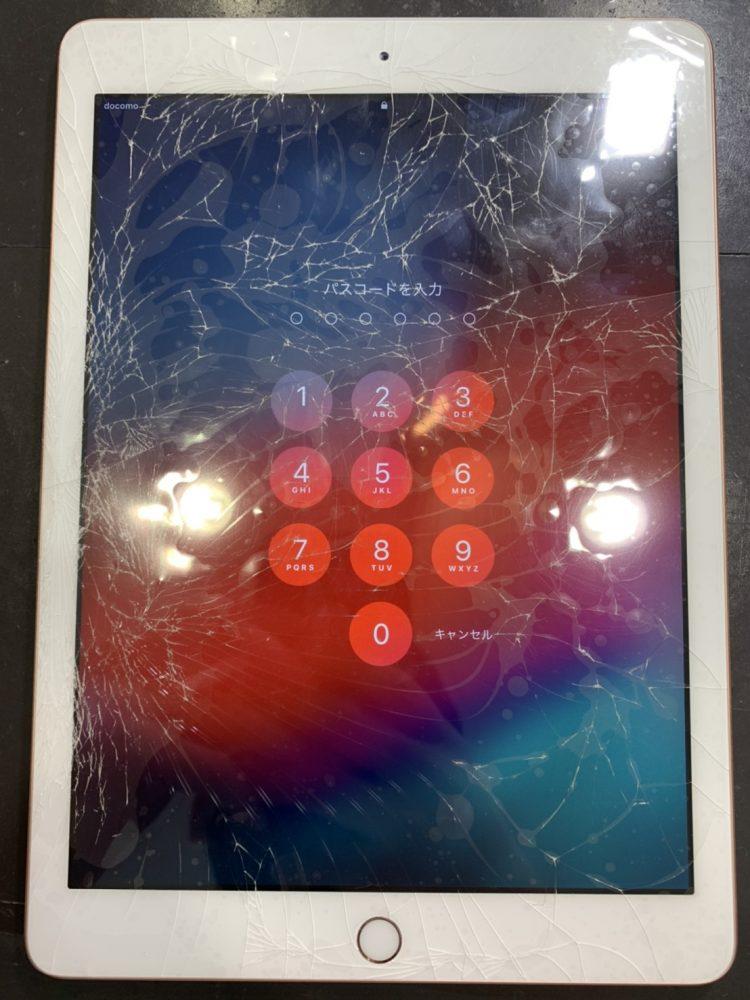 iPad6 ガラス交換 即日修理