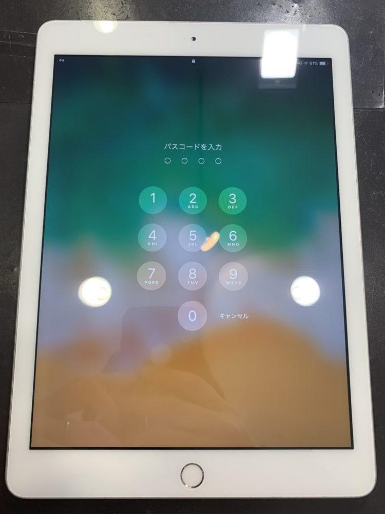 iPad6 ガラス交換 小倉