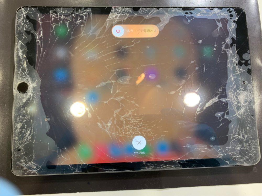 iPad7 ガラス交換 小倉