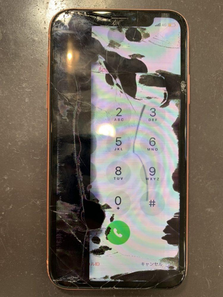 iPhoneXR 画面交換 小倉
