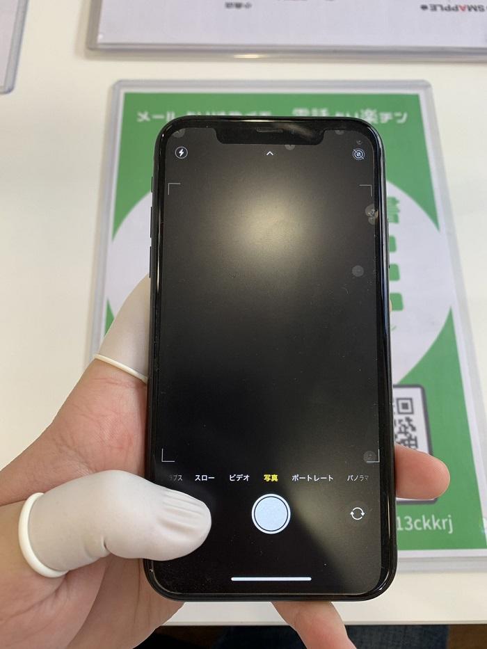 iPhone カメラ修理 小倉