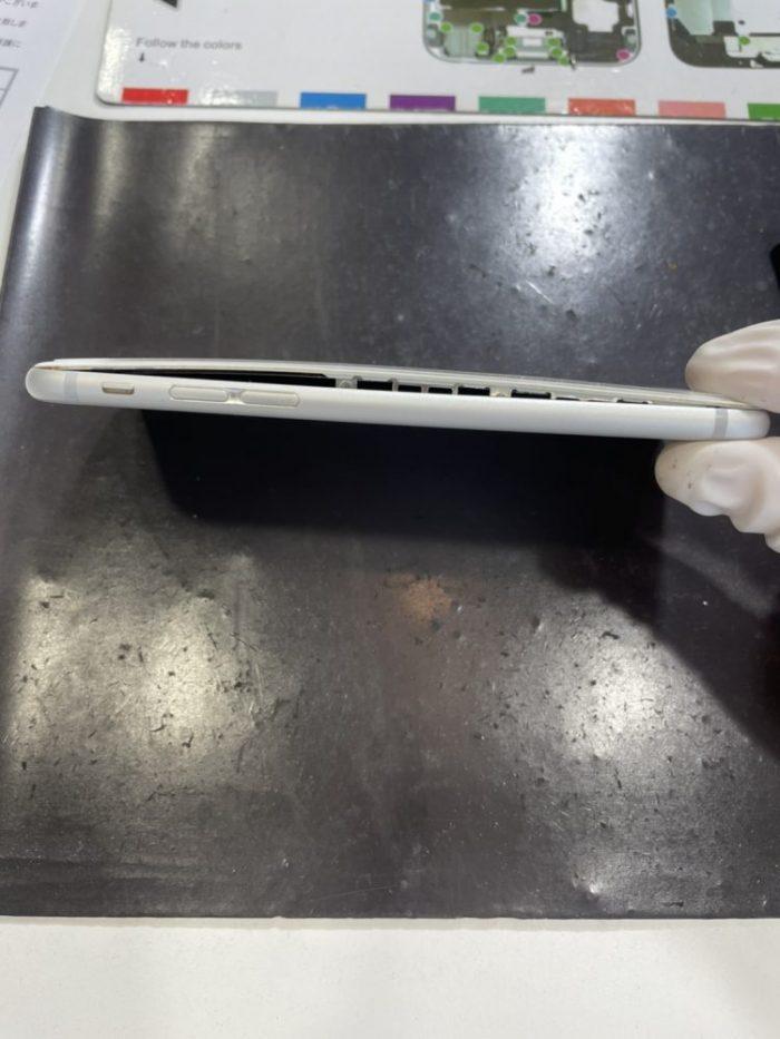 iPhone バッテリー 膨張 交換 修理 小倉 福岡 北九州