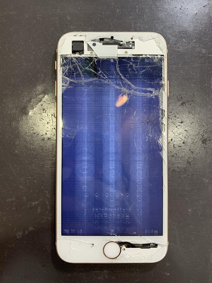 iPhone 画面修理 小倉