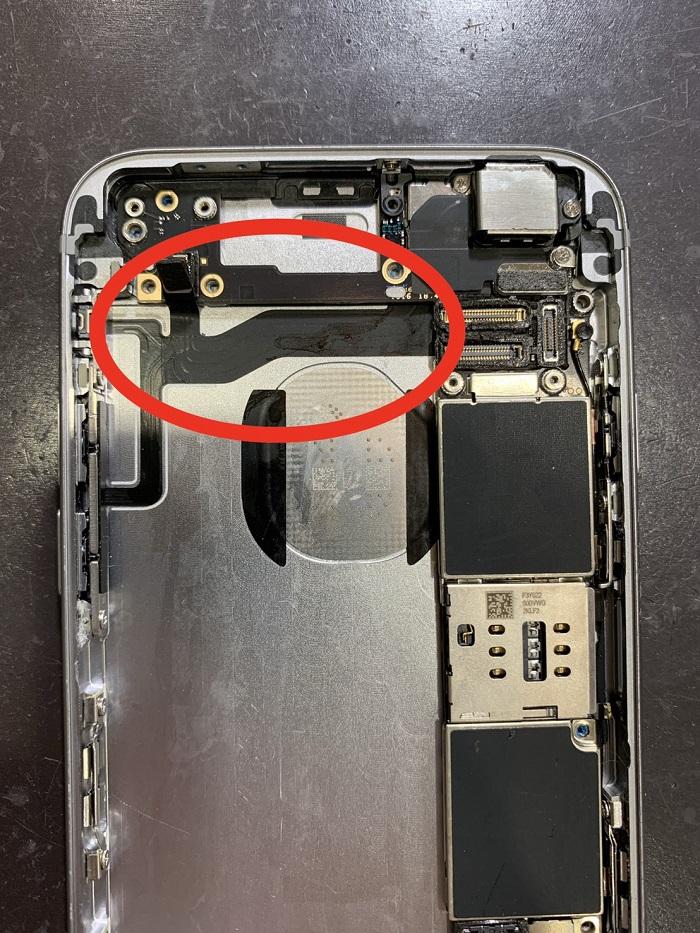 iPhone 電源ボタン 修理 小倉