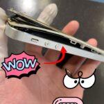 爆発寸前!?限界を超えて膨張してしまったiPhoneSEが元通りに復活するまで・・・
