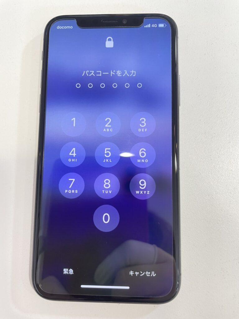 iPhoneX アイフォーン アイホン 画面 修理 小倉 北九州